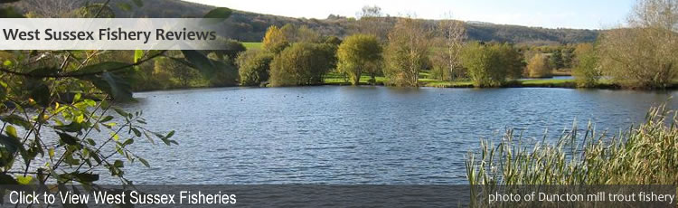Fishing Lakes in West Sussex