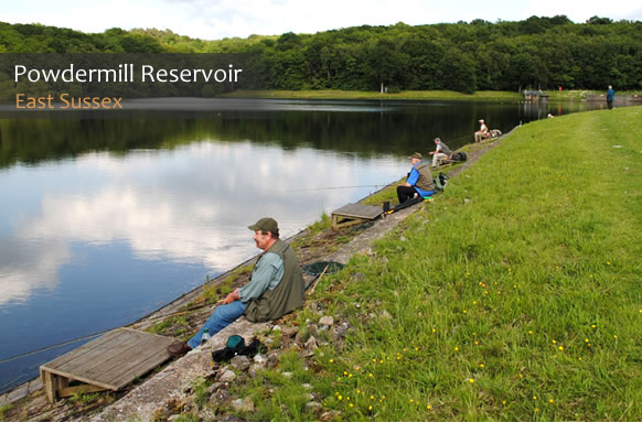 Powdermill Reservoir Trout Fishery