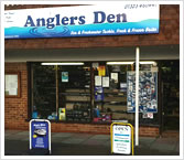 Anglers Den Tackle Shop
